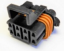 8-Position Sealed Female Connector Metri-Pack 150 14 Amps Require TPA 12066304