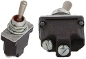 2 Screw, (On)-Off Environmentally Sealed Toggle Switch