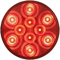 "4"" LED Red Stop/Tail/Turn Ligh"