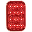 "5-5/16"" x 3-7/16"" LED Red Rect"