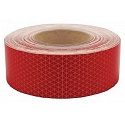 "Red 2"" Reflective Tape, 150' Roll"