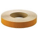 "School Bus Yellow 1"" Diamond Pattern Reflective Tape, 150' Roll"