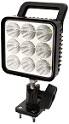 "Square LED Spot Light w/ Handle and 360 Degree Rotation Axis, 12-24V, 2.2 AMP, 1300 LM, 5.2"" (8.1"" Including Handle) x 4.3"" x 3.3"""