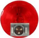 "4"" Red Stop/Tail/Turn Light with Male Pin and Torsion Mount"