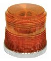 Amber Low Profile LED Beacon Light
