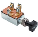 15A-12V In-Mid-Out Push-Pull Switch