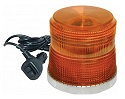 Amber Low Profile LED Beacon Light with Magnetic Mount